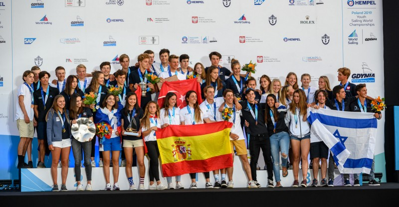 Young Sailors From All Over the World Raced in Gdynia