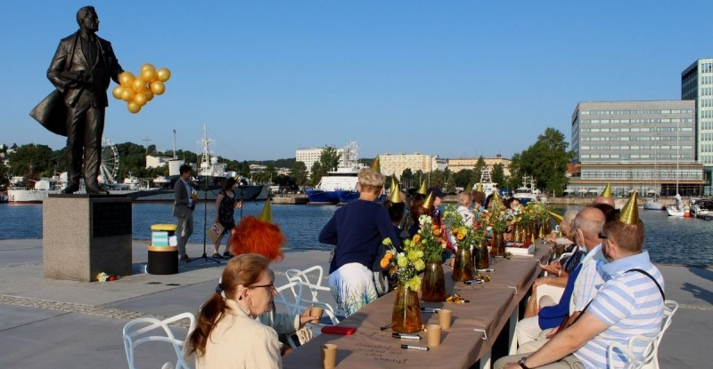 The builder of Port of Gdynia celebrates his birthday