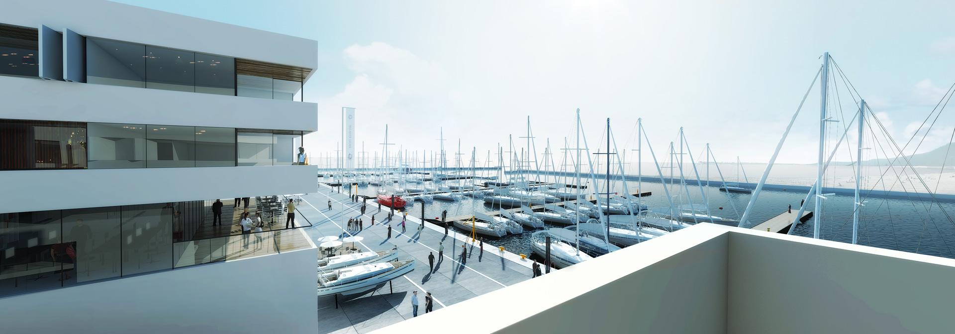We know the winning design of New Marina